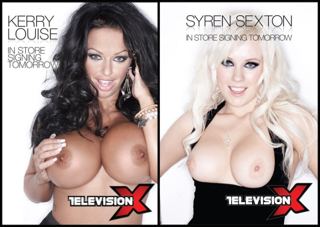 syren sexton kerry louise tvx store signing